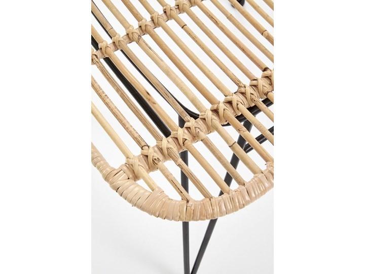 Krzesło K337 rattanowe HALMAR Metal Tkanina Stal Kategoria Krzesła kuchenne
