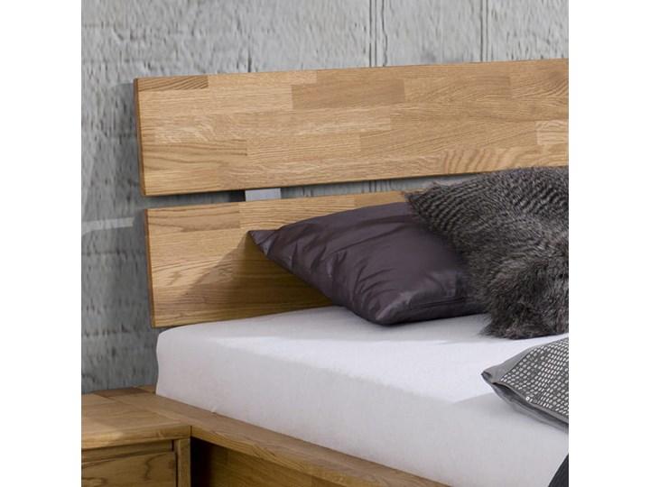 Łóżko dębowe FLOW Style (180x200) Soolido Meble Łóżko drewniane Kategoria Łóżka do sypialni Kolor Szary