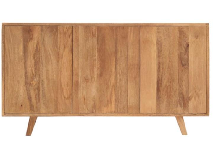 Komoda SELMA (Bursztyn) Szerokość 120 cm Z szafkami Wysokość 68 cm Styl Skandynawski Głębokość 40 cm Drewno Pomieszczenie Salon