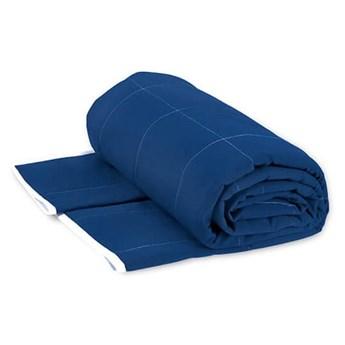 Koc obciążeniowy 135x200 niebieska, Senso-Rex