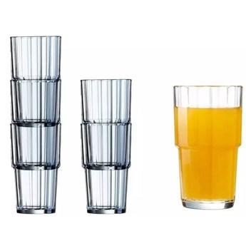Szklanki literatki Arcoroc Norvege 270 ml zestaw 6 szklanek
