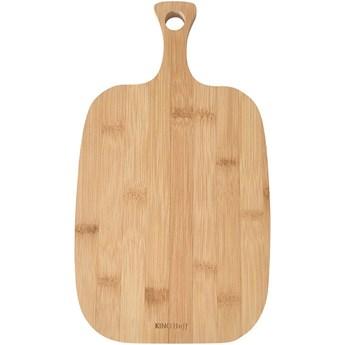 Deska bambusowa do krojenia Kinghoff KH 1564 38x23 cm kuchenna do krojenia chleba | Kup teraz®