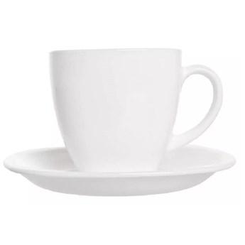 Filiżanki do kawy herbaty na 6 osób Luminarc Carine zestaw biały