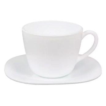 Serwis kawowy Parma Luminarc 12 elementów 220 ml biały dla 6 osób