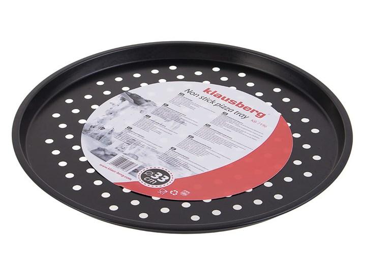Tacka do pieczenia pizzy Klausberg KB 7196 Okrągła 33 cm Do pizzy Kategoria Formy i foremki