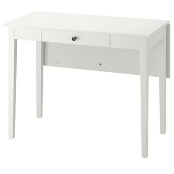 IKEA IDANÄS Stół z opuszcz blatem, biały, 51/86x96 cm
