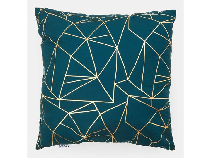 Sinsay - Poduszka dekoracyjna 45x45 - Turkusowy 45x45 cm Kwadratowe Kategoria Poduszki i poszewki dekoracyjne