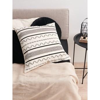 Sinsay - Poszewka na poduszkę - Czarny