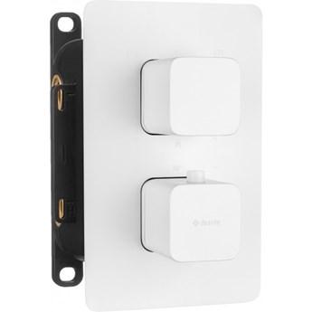 Deante Box bateria wannowo-prysznicowa podtynkowa termostatyczna biała BXY AECT