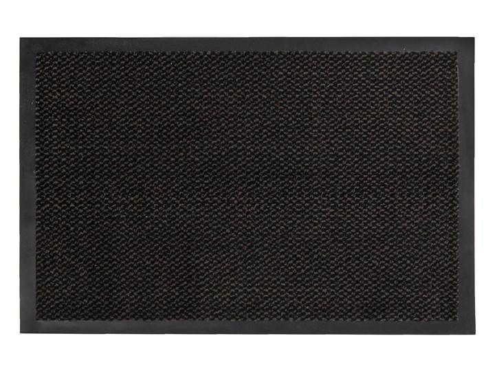 Wycieraczka Pod Drzwi Wejściowa 7 mm Antypoślizgowa Czarna Zenit 61871 80 x 120 cm Tworzywo sztuczne Kolor Czarny