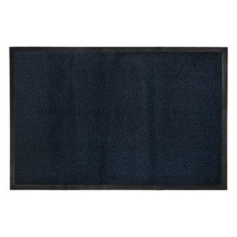 Wycieraczka Pod Drzwi Wejściowa 7 mm Antypoślizgowa Niebieska Zenit 61853 40 x 60 cm