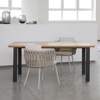 Stół dębowy rozkładany MANHATTAN 90cm/190cm x 90cm h=75cm