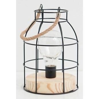 Sinsay - Lampka stołowa - Czarny