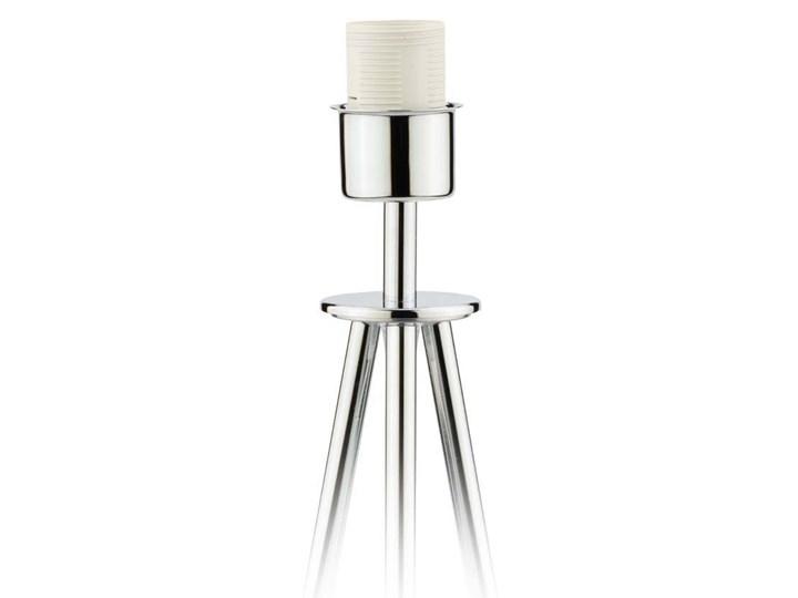 LAMPA NA STOLIK KANIS STOŻEK WELUR GOLDEN Tkanina Chrom Wysokość 50 cm Stal Lampa z abażurem Styl Nowoczesny Kategoria Lampy stołowe