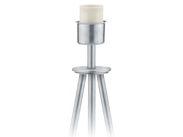 LAMPA NA STOLIK KANIS STOŻEK WELUR GOLDEN Lampa z abażurem Wysokość 50 cm Kategoria Lampy stołowe Chrom Tkanina Stal Styl Nowoczesny