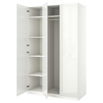 IKEA PAX / FARDAL Kombinacja szafy, biały/połysk biały, 150x60x236 cm
