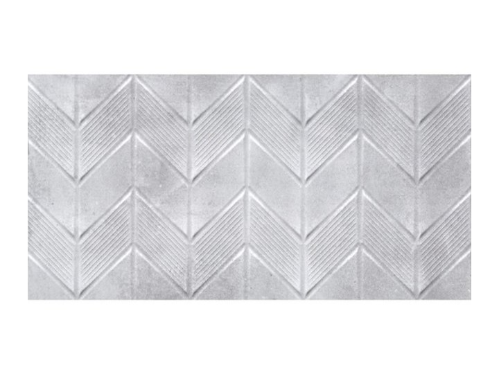 Płytka ścienna dekor CANBERRA dark grey mat zygzak 30x60 gat. I
