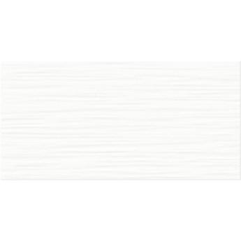 Płytka ścienna FLAT white structure glossy 19,8x39,8 gat. I