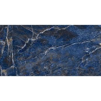 Gres szkliwiony OCEAN blue glossy 60x120 gat. I