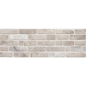 Płytka ścienna hiszpańska KERABEN Wall Brick Old grey mat 30x90 gat.