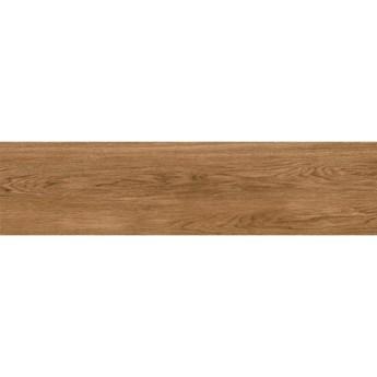 Gres szkliwiony ETERNAL WOOD brown 22,1x89 gat. I Cersanit