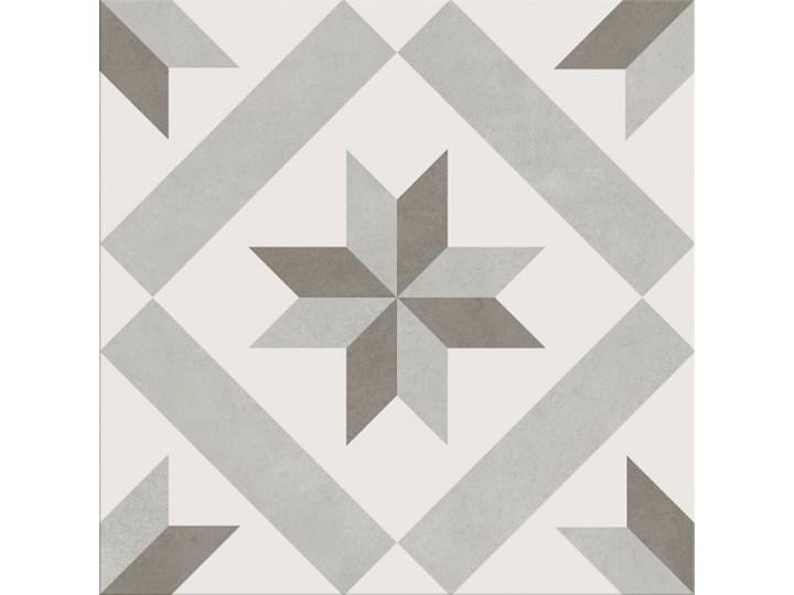 Gres szkliwiony PANEL ornament light grey 29,8x29,8 gat. I Płytki tarasowe 29,8x29,8 cm Płytki podłogowe Płytki ścienne Płytki elewacyjne Wzór Ornamenty