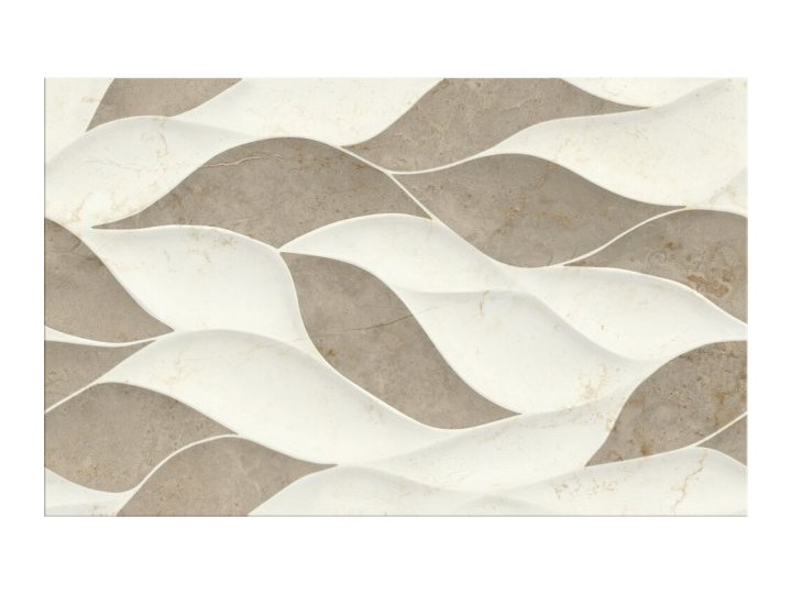 Płytka ścienna PINEVILLE cream-brown structure połysk 25x40 gat. I