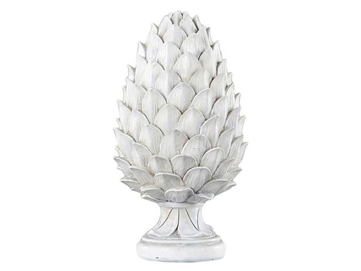 SZYSZKA DEKORACYJNA BIAŁA WYBIERZ ROZMIAR WERANDA 14x14x26 Tworzywo sztuczne Kolor Biały