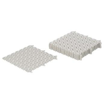 IKEA ALTAPPEN Płyta podłogowa, ogrodowa, jasnoszary, 0.81 m²