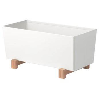 IKEA BITTERGURKA Osłonka doniczki, biały, 32x15 cm