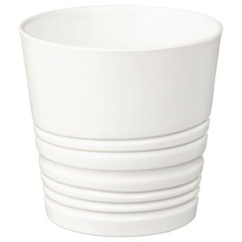 IKEA MUSKOT Osłonka doniczki, biały, 9 cm