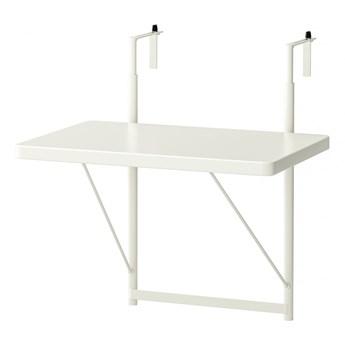 IKEA TORPARÖ Stół balkonowy, biały, 50 cm