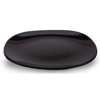 Kwadratowy talerz Padowa czarny 20 cm  kod: 1097803001