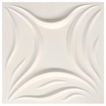 VidaXL Panele ścienne 3D, 24 szt., 0,5x0,5 m, 6 m²