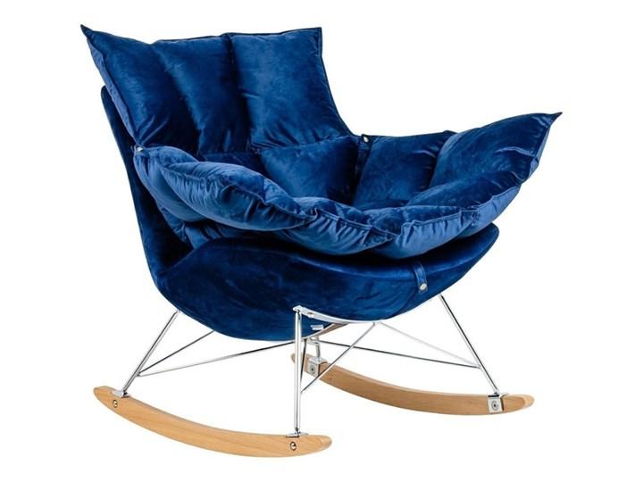 Fotel Bujany Swing Velvet Zielony Pomieszczenie Salon Drewno Plusz Tkanina Kategoria Fotele do salonu