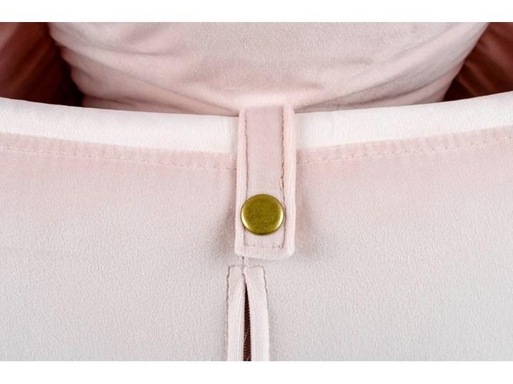 Fotel Bujany Swing Velvet Zielony Pomieszczenie Salon Plusz Tkanina Drewno Kategoria Fotele do salonu