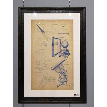 Ramka Vintage Astronomy