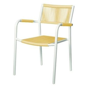 Krzesło ogrodowe obiadowe Shelly 57x46x44cm