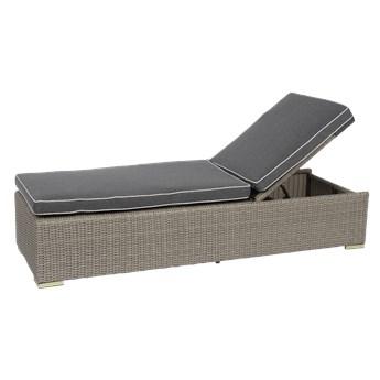 Leżak z poduszką Cloud 193x62x35cm