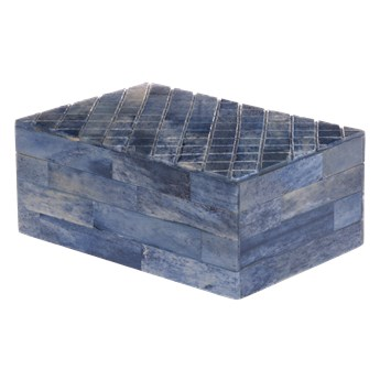 Pudełko Mosaic Blue 10x15x6 cm