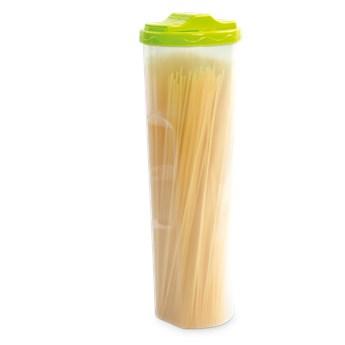 SPAGHETTIBOX 1400 ml, pojemnik do dawkowania spaghetti zielony