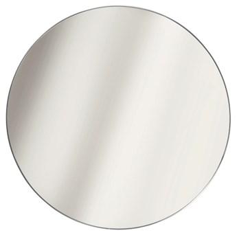 Okrągłe lustro srebrne - Osso