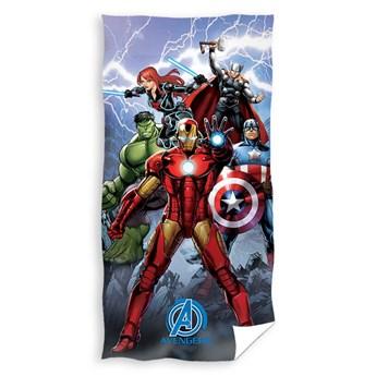 Ręcznik dziecięcy frota 70x140 Avengers Ironman, Carbotex