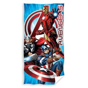 Ręcznik dziecięcy frota 70x140 Avengers Ameryka, Carbotex