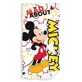 Ręcznik dziecięcy frota 70x140 Myszka Mickey, Carbotex