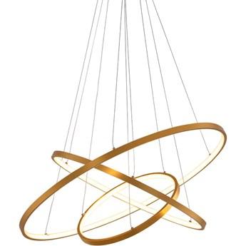 Art Deco Elipse XL - żyrandol nowoczesny 4 punkty 120cm