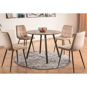 Okrągły stół w stylu loftowym Oakland