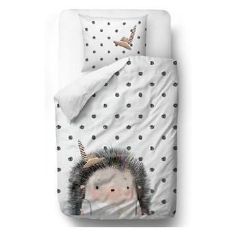 Bawełniana pościel dziecięca Mr. Little Fox Hedgehog Boy, 100x130 cm