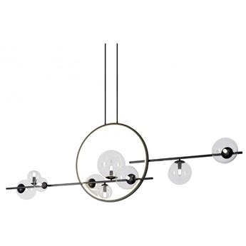 Lampa wisząca ORION DOUBLE czarna 145 cm MP0083-L145 Step Into Design MP0083-L145   SPRAWDŹ RABAT W KOSZYKU !