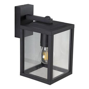 Lampa ogrodowa kinkiet elewacyjny GAIA S BLACK E27 czarny IP44 EDO777370 EDO Garden Line